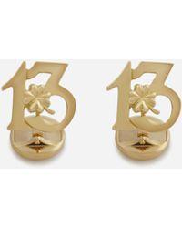 Dolce & Gabbana Manschettenknöpfe Good Luck Aus Gelbgold - Mettallic