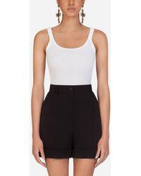 Dolce & Gabbana Cotton T-Shirt - Weiß