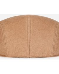 Dolce & Gabbana Cashmere And Leather Flap Cap - Natur