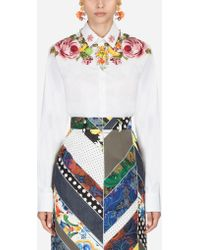 Dolce & Gabbana - Cotton Shirt - Lyst