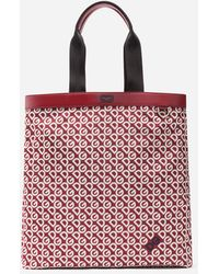 Dolce & Gabbana Nylon Bag With Dg Logo Print - Red