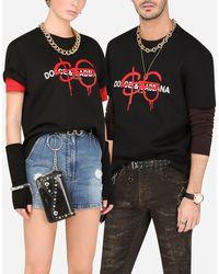 Dolce & Gabbana Sfera Ebbasta X Dolce&gabbana T-shirt - Black