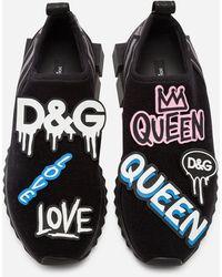 Dolce & Gabbana Graffiti Love - Negro