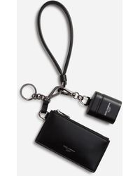 Dolce & Gabbana Multi-purpose Kit With Airpods Case And Wallet - Black