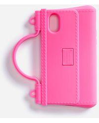 Dolce & Gabbana Iphone X-Xs Hülle Aus Gummi - Pink