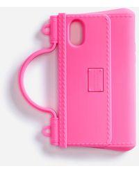 Dolce & Gabbana Rubber D.n.a Iphone X-xs Case - Pink