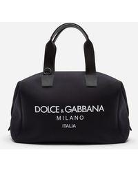 Dolce & Gabbana Neoprene Carabiner-clip Holdall - Black