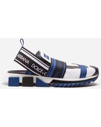 Dolce & Gabbana - Sorrento Sneakers In Mixed Materials - Lyst