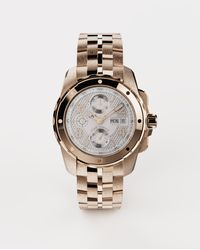 Dolce & Gabbana Ds5 Watch In Red Gold - Metallic