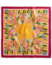 Dolce & Gabbana - Printed Silk Foulard 70 X 70 Cm – 27.6 X 27.6 Inches - Lyst