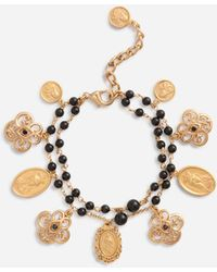 Dolce & Gabbana Bracelet With Charms - Mettallic