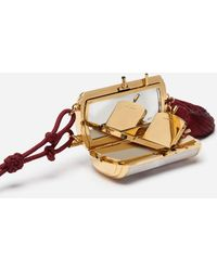 Dolce & Gabbana Vanity Box Aus Perlmutt - Weiß