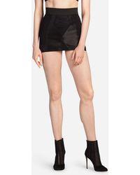Dolce & Gabbana - Short Bodycon Skirt In Stretch Shaper Fabric - Lyst