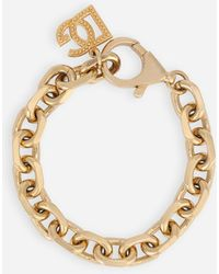 Dolce & Gabbana Gold Chain Bracelet - Metallic