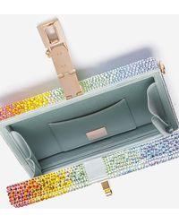 Dolce & Gabbana Dolce Box Clutch With Heat-Applied Rhinestones - Mehrfarbig