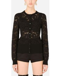 Dolce & Gabbana Lace Cardigan - Noir