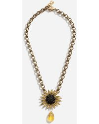 Dolce & Gabbana Short Necklace With Decorative Details - Metallic
