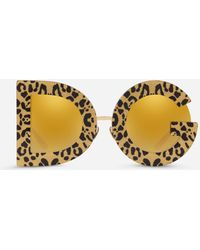 Dolce & Gabbana Dg Leo Sunglasses - Métallisé