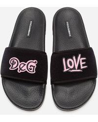 Dolce & Gabbana Graffiti Love - Black