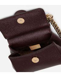 Dolce & Gabbana Sicily Handbag In Printed Dauphine Calfskin - Multicolor