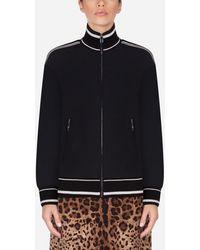 Dolce & Gabbana Sweatshirt Aus Viskose - Schwarz