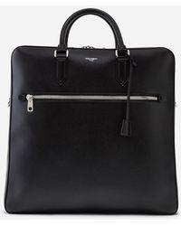 Dolce & Gabbana Calfskin Briefcase - Black