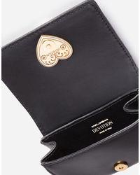 Dolce & Gabbana Devotion Micro Bag In Zebra-print Pony Hair - Multicolour