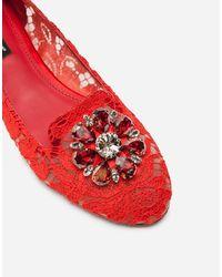 Dolce & Gabbana Slipper - Red