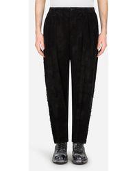 Dolce & Gabbana Corduroy Pants - Nero