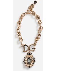 Dolce & Gabbana Necklace With Decorative Elements - Métallisé