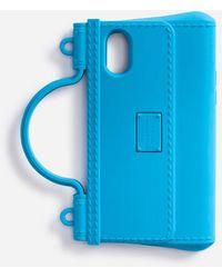 Dolce & Gabbana Iphone X-Xs Hülle Aus Gummi - Blau