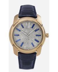 Dolce & Gabbana Reloj De Oro Y Pavés De Diamantes - Multicolor