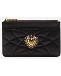 Dolce & Gabbana Devotion Cardholder - Black