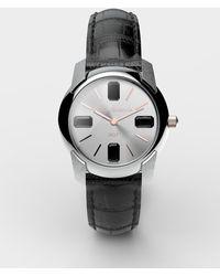 Dolce & Gabbana Uhr Mit Armband Aus Alligatorleder - Schwarz