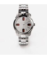 Dolce & Gabbana Steel And Rhodolite Watch - Metallic