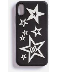 Dolce & Gabbana Funda Iphone X De Goma Con Estrellas - Negro
