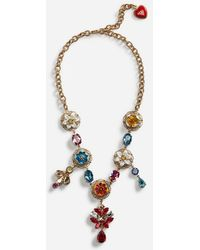 Dolce & Gabbana - Pendant Necklace - Lyst