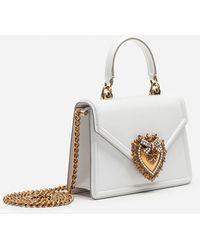 Dolce & Gabbana Schultertasche - Weiß