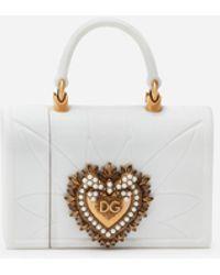 Dolce & Gabbana Air Pod Case Devotion Aus Silikon - Weiß