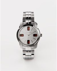 Dolce & Gabbana Stahluhr Mit Aquamarin - Mettallic