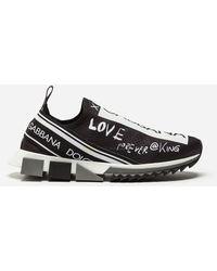 Dolce & Gabbana - Sneakers Sorrento Estampado Grafiti - Lyst