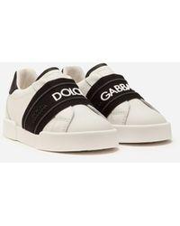 Dolce & Gabbana - Sneakers Portofino Light Mit Logo-Gummiband Rubber - Lyst