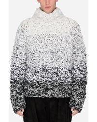 Dolce & Gabbana Oversized Wool Turtle-Neck Sweater - Mehrfarbig