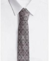 Dolce & Gabbana Tie-Print Silk Jacquard Blade Tie (6 Cm) - Grau