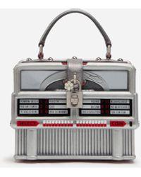 Dolce & Gabbana Juke-Box Dolce Box Bag - Metálico