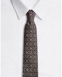 Dolce & Gabbana Tie-Design Silk Jacquard Blade Tie (6 Cm) - Mehrfarbig