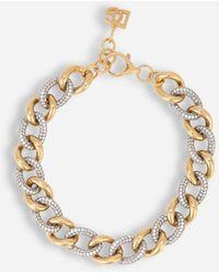Dolce & Gabbana Chain Choker - Metallic