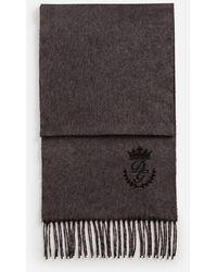 Dolce & Gabbana - Schal Aus Kaschmir Und Seide - Lyst