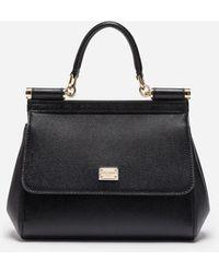 Dolce & Gabbana Kleine Tasche Sicily - Schwarz