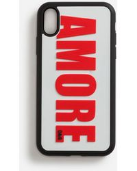 Dolce & Gabbana Rubber Amore Iphone Xr Cover - Red